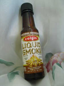 Yummy liquid smoke.