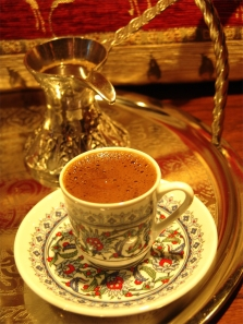 turkish coffee and cup