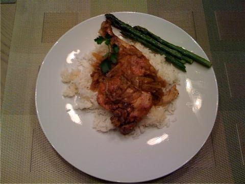 Saffron Lemon Chicken. Made with certified Organic chicken thighs and ...