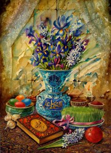 Happy Persian New Year, aka Nowruz, aka the Spring Equinox!